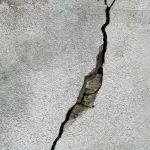 Fissure mur