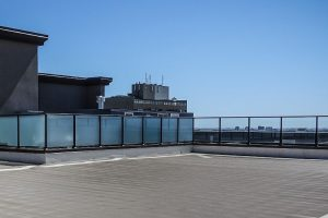 Toit-terrasse vide